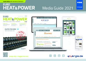 Cover Media Guide Euroheat&Power (dt.) 2021