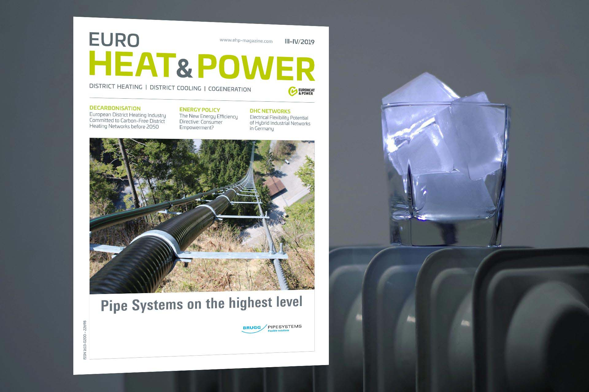 EUROHEAT&POWER international comes with news design