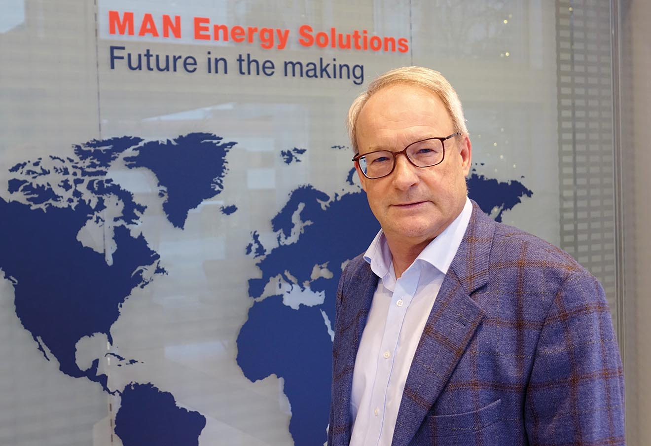 Marc Grünewald, Head of Business Development and New Energies, Power, bei MAN Energy Solutions